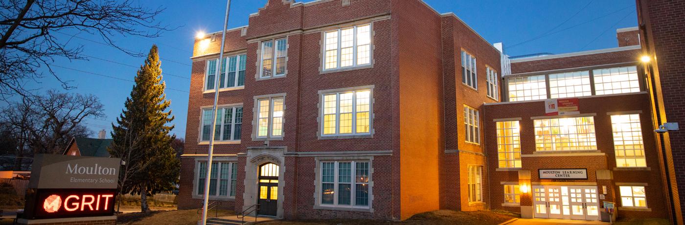 Moulton Elementary School Building