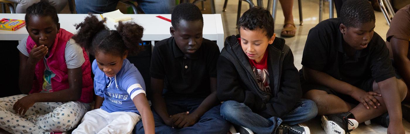 Moulton Elementary School Students